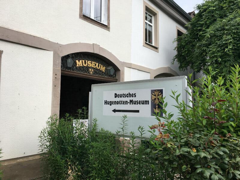 Bad Karlshafen - Deutsches Hugenottenmuseum - Weserradweg