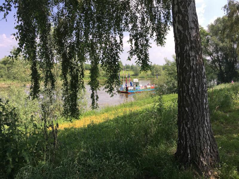 Bad Oeynhausen Fähre am Weserradweg