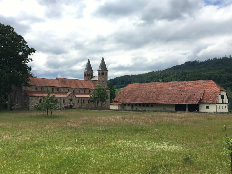 Kloster Bursfelde bei Hann Münden am Weserradweg - Schloss
