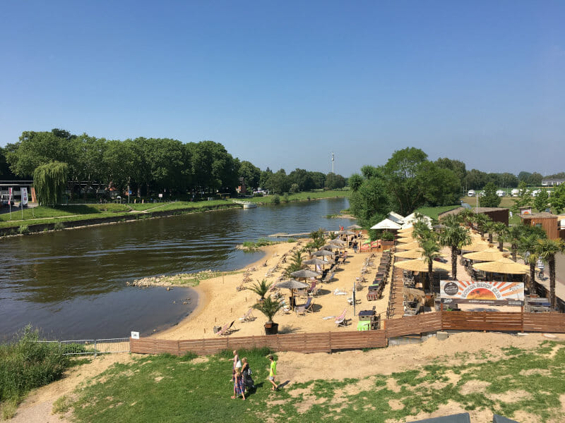 Beach Club in Rinteln an der Weser