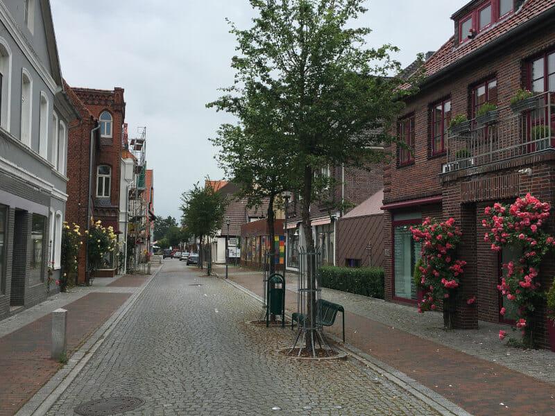 Hoya Innenstadt Weserradweg