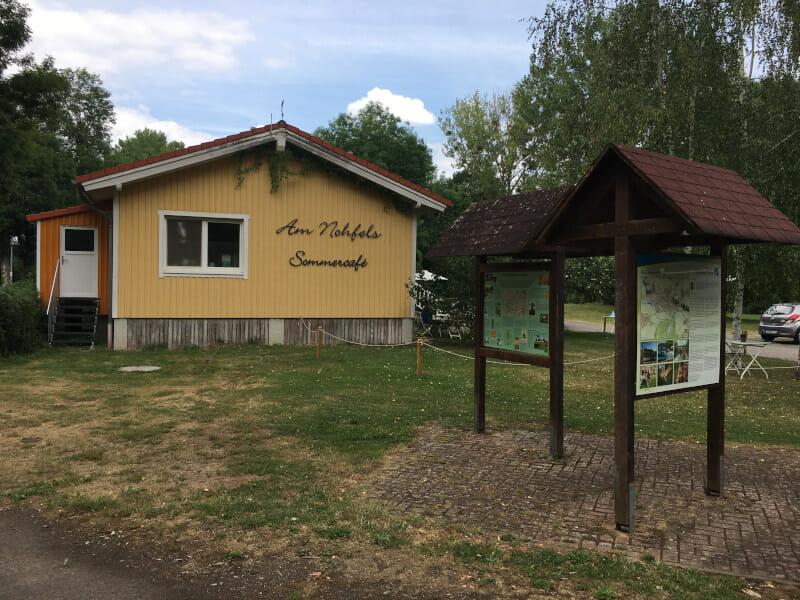 Sommercafe am Nohfels - Naheradweg
