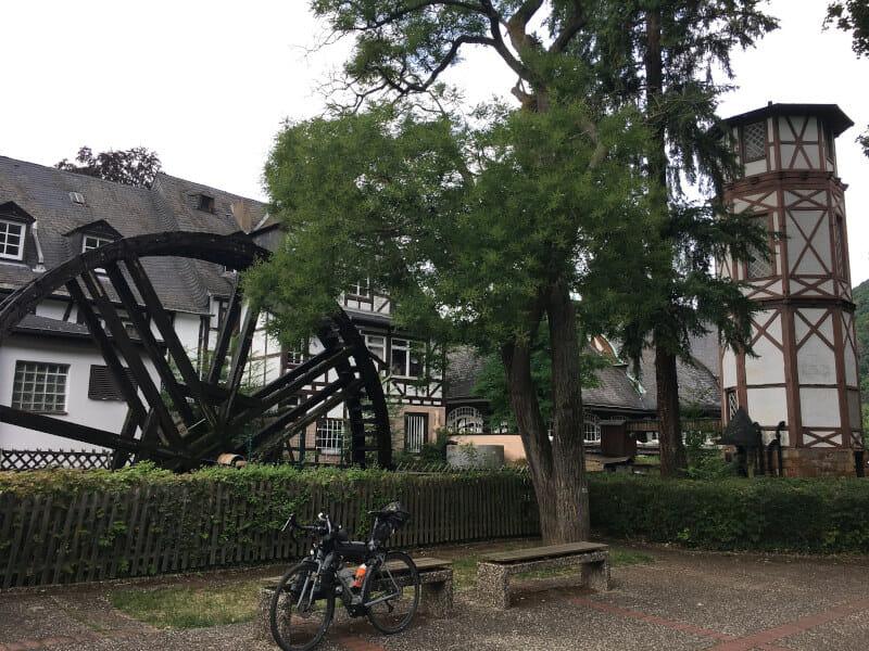 Bad Münster am Stein Ebernburg - Bad Kreuznach - Mühle - Gravelbike - an der Nahe