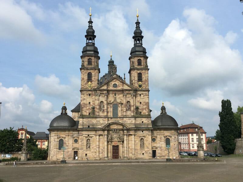 Dom zu Fulda am Fuldaradweg