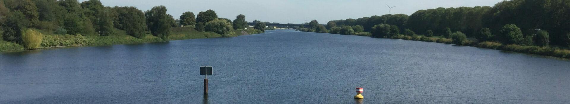 Ruhrtalradweg - Duisburg Ruhrschleuse - Ruhrgebiet