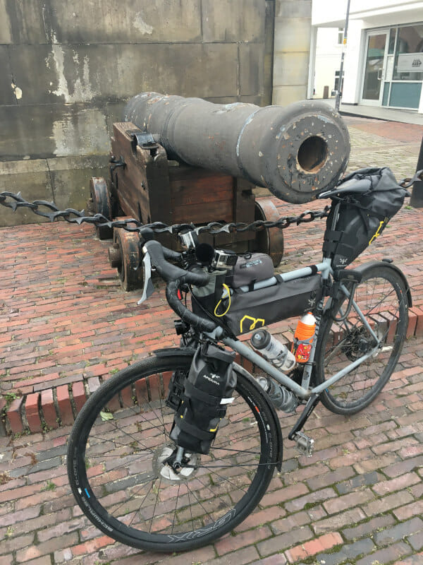 Elsfleth - Weserradweg - Mit Kanone und Gravelbike