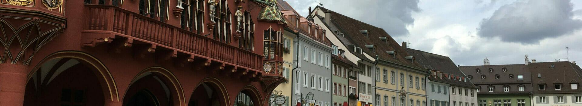 Freiburg in Baden Innenstadt - Radregion Baden