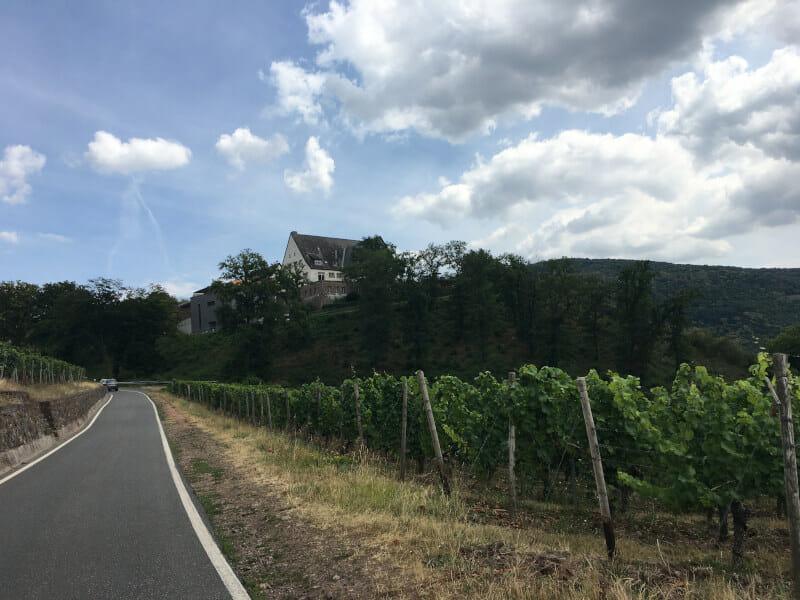 Gut Hermannsberg in Oberhausen an der Nahe - Naheradweg