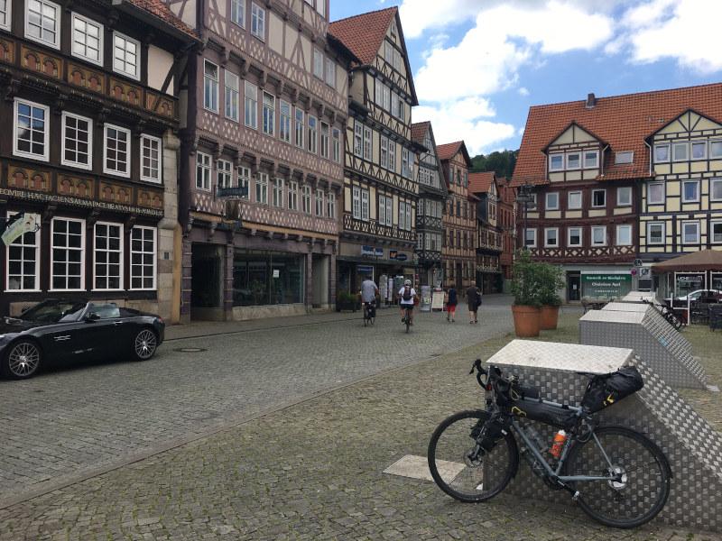 Hann Münden - Fachwerkhäuser - Fuldaradweg