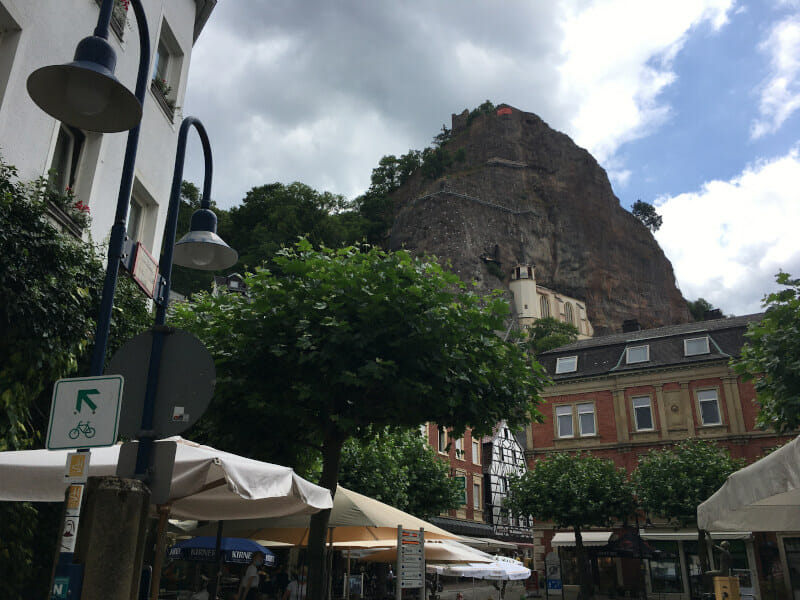 Idar Oberstein - Burg - Naheradweg