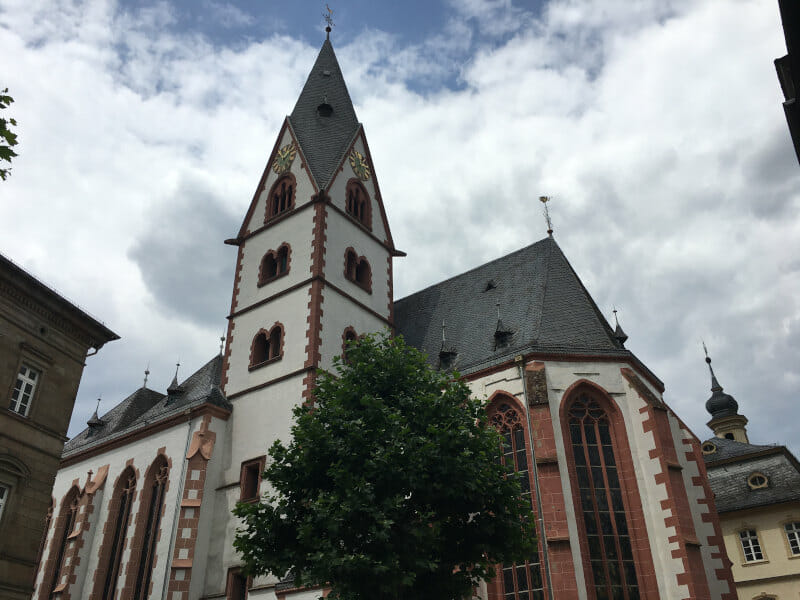Kirn - Kirche - an der Nahe - Nahetalradweg