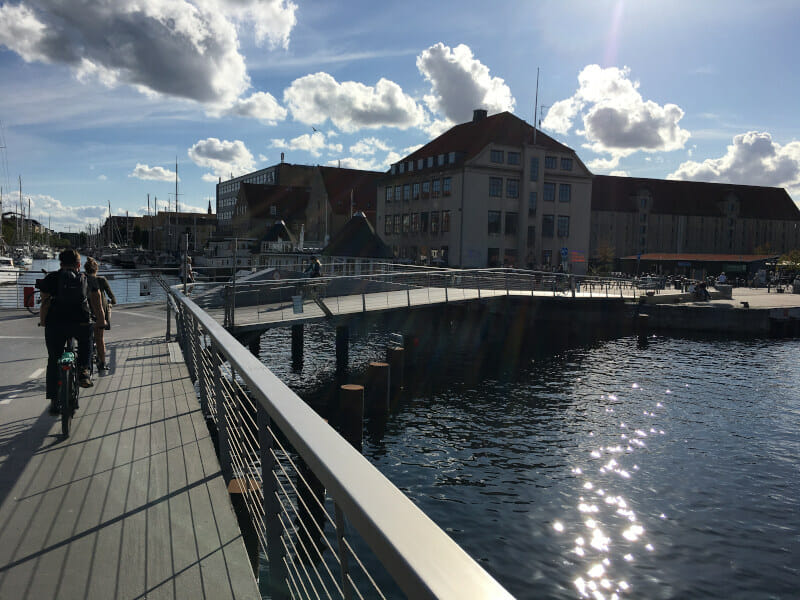 Fahrradfahren in Kopenhagen - Berlin-Kopenhagen-Radweg