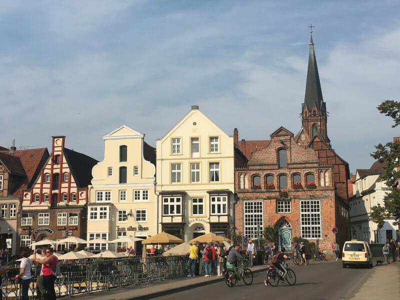 Lüneburg - Radweg Alte Salzstraße