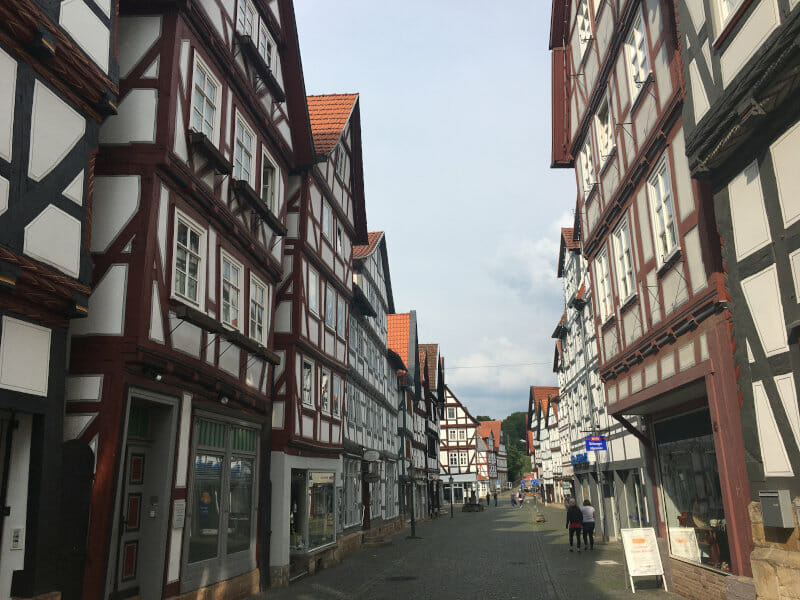 Melsungen Fachwerkhäuser - Unterkünfte am Fuldaradweg