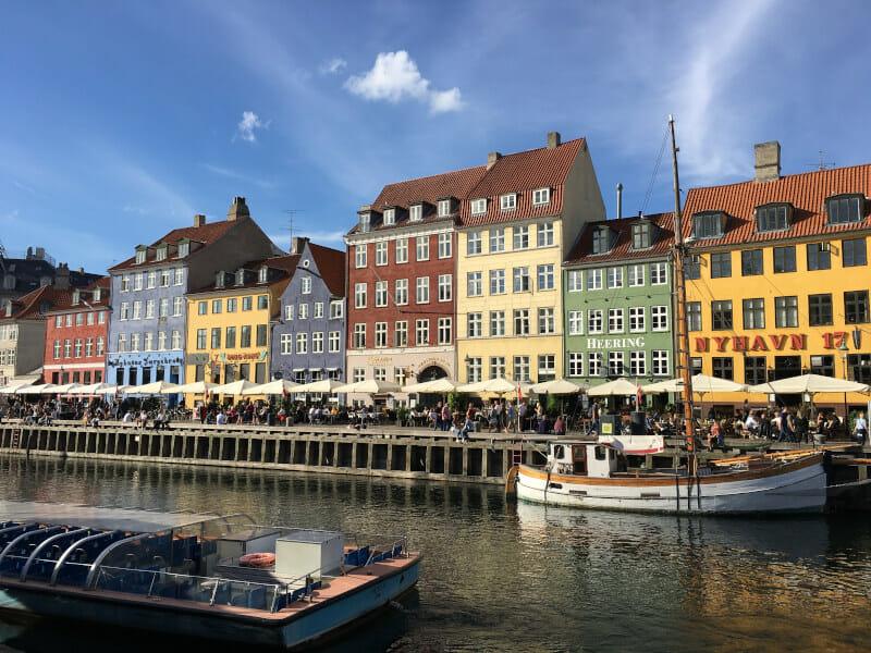 Nyhavn - Kopenhagen - Berlin-Kopenhagen-Radweg