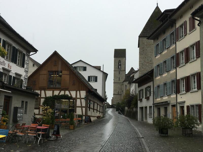 Rapperswil - Umrundung Zürichsee - Altstadt und Kirche