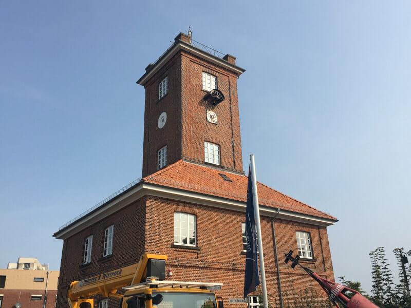 Schifffahrtsmusem Oldenburgische Weserhäfen Brake - Mit dem Rad an der Weser entlang