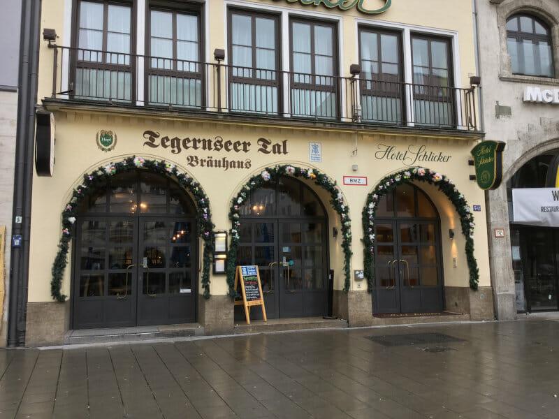 Tegernseer Tal Bräuhaus - München - Isarradweg