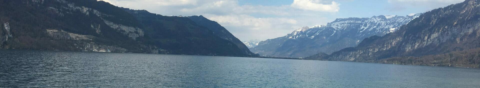 Thuner See am Aareradweg - Schweiz