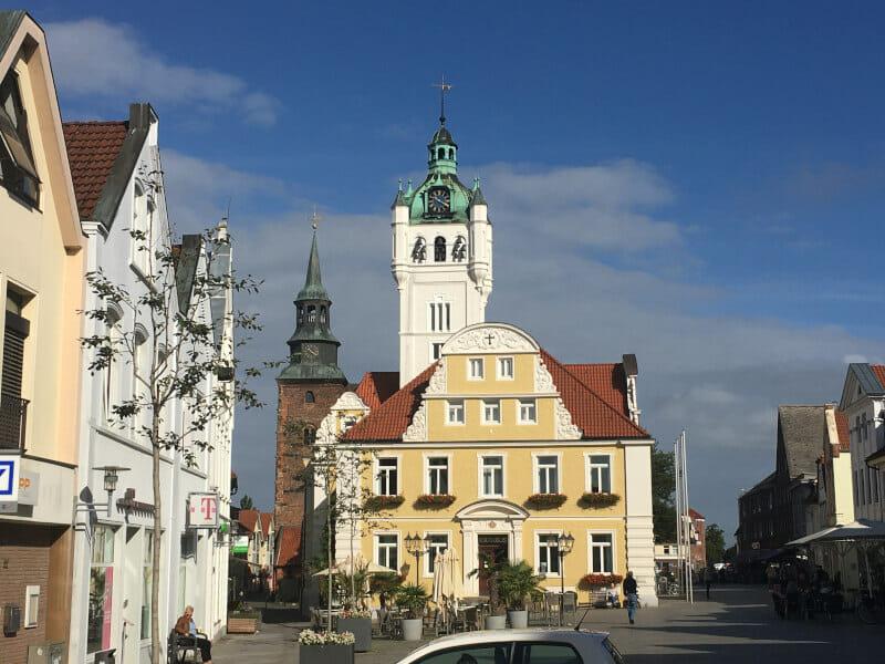Verden an der Aller - Rathaus - Weserradweg