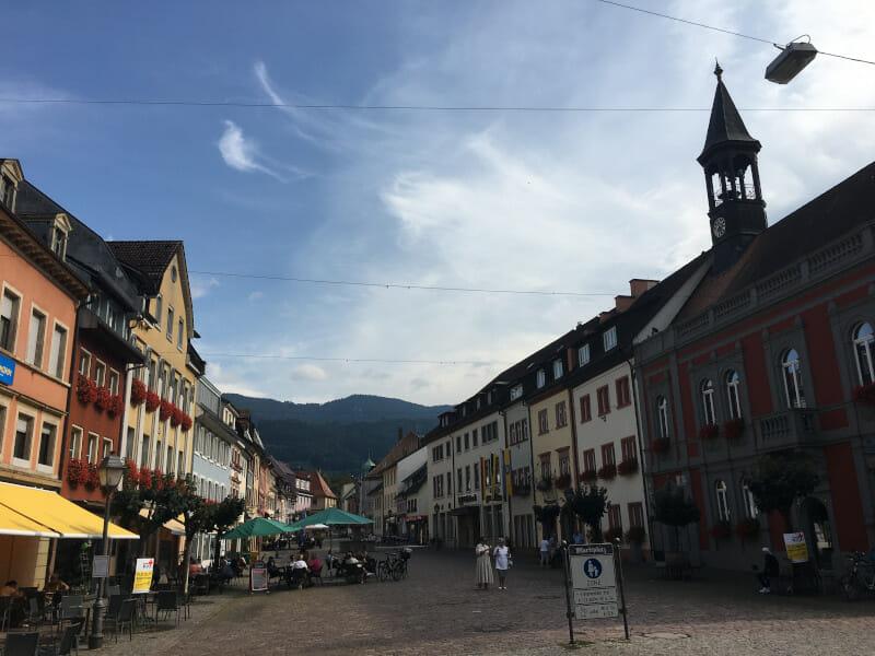 Waldkirch - Innenstadt - Kandel - Schwarzwald