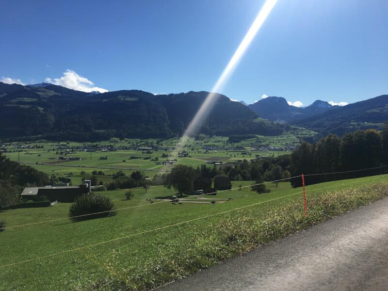 Wangen - Zürichsee - wundervoller Ausblick