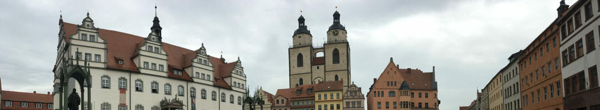 Lutherstadt Wittenberg - Elberadweg - Fläming