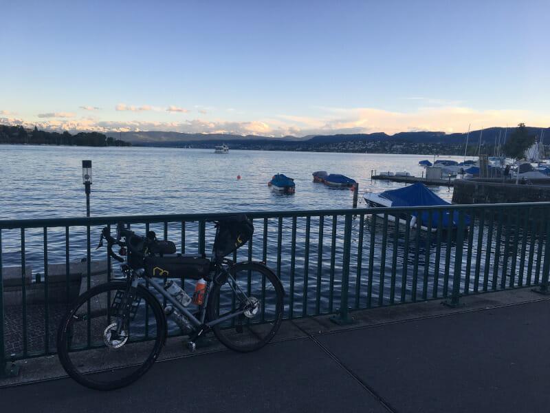 Zürichsee - Radweg - Umrundung - Zürich