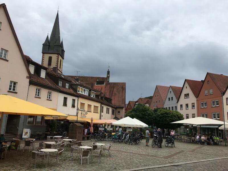 Fairtradestadt Gemünden am Main-Radweg.