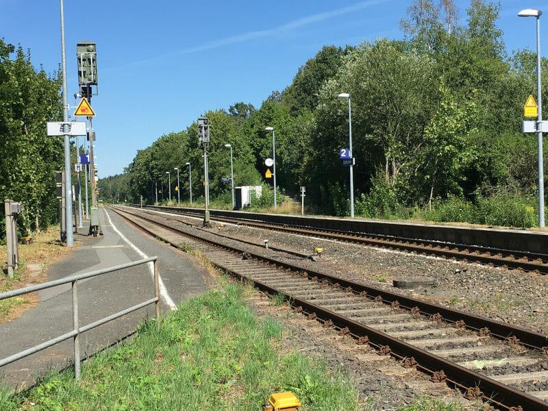 Haltepunkt Creußen - Am Main-Radweg
