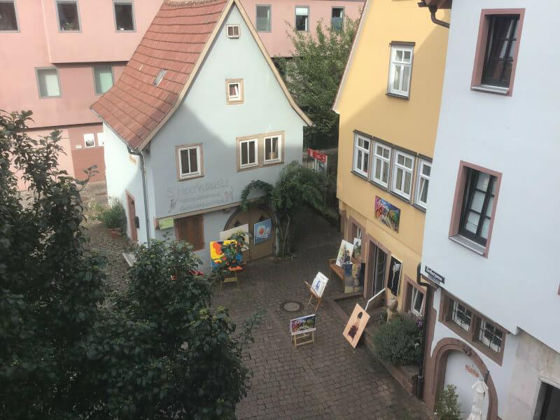 Hexahäusle in Wertheim - Kunst - Mainradweg
