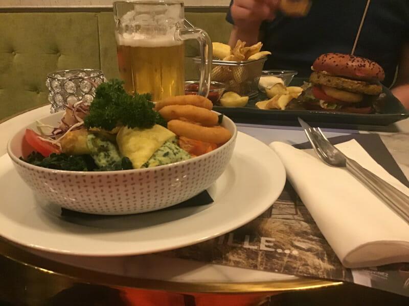 Vegetarisches Essen in Brig