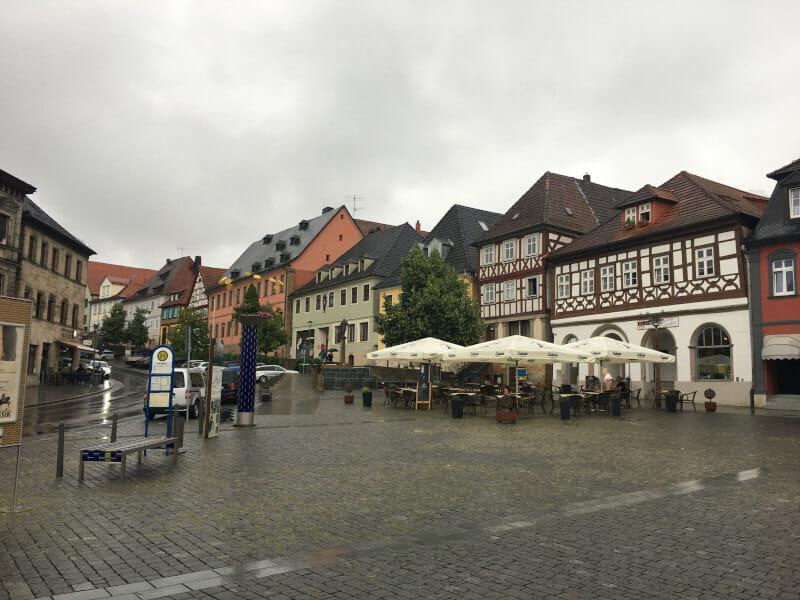 Lichtenau Innenstadt - Main-Radweg
