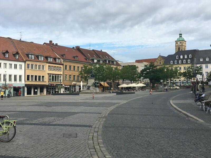 Schweinfurt - Innenstadt - Mainradweg