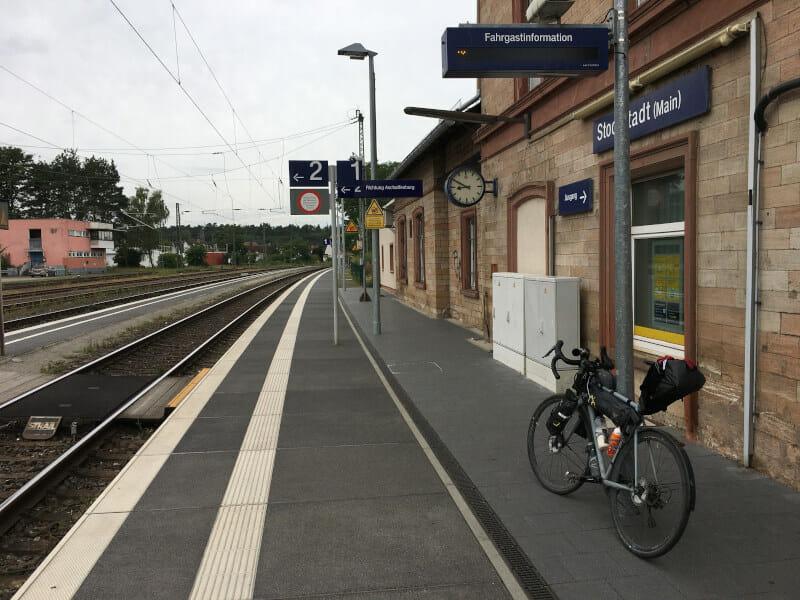 Stockstadt am Main - Bahnhof - Gravelbike