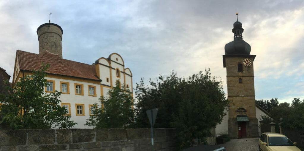 Strössendorf - Kirche - Mainradweg
