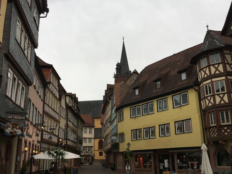 Wertheim liegt am Mainradweg und am Taubertalradweg.