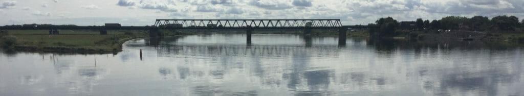 Elberadweg - Berlin-Hamburg-Radweg - Lauenburg - Elbebrücke.