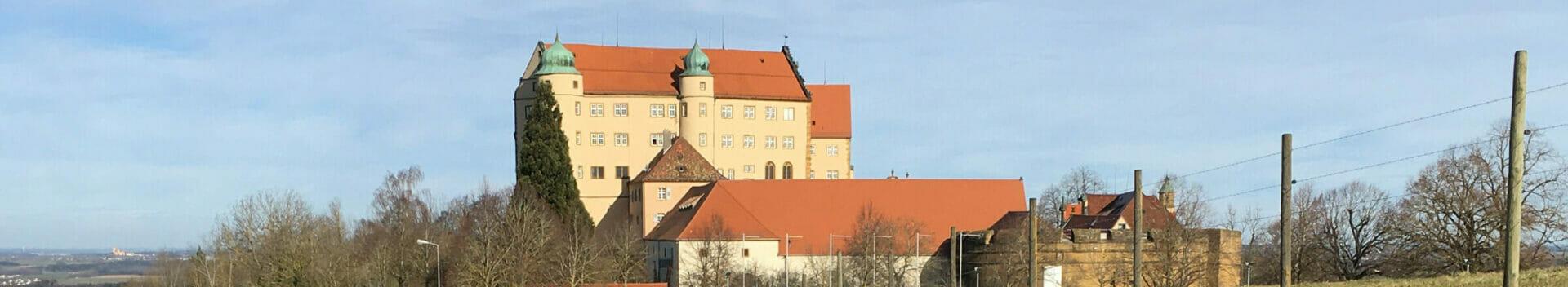 Schloss Kapfenburg - Hohenlohe-Ostalb-Radweg