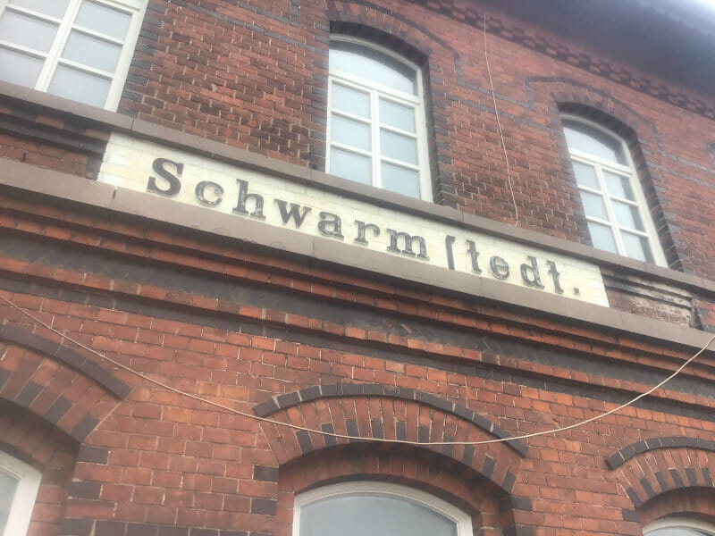 Schwarmstedt - Bahnhof - Allerradweg.