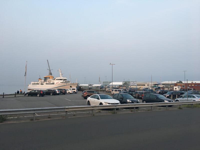 Hafen Cuxhaven nach Helgoland