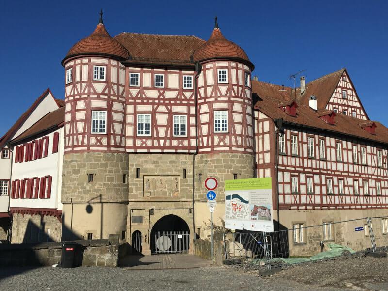Gaildorf Marktplatz - Idyllische Straße