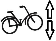 Wie hoch ist ein Fahrrad?