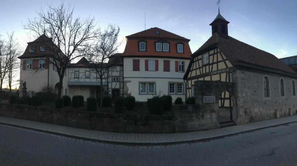 Mainhardt Römermuseum - Radweg Idyllische Straße