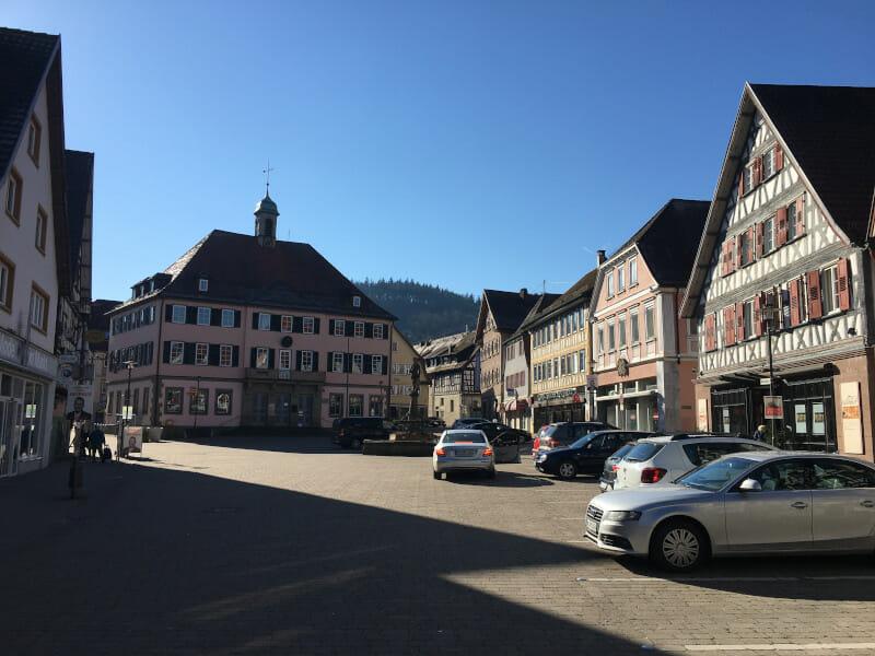 Murrhardt - Start an der idyllischen Straße