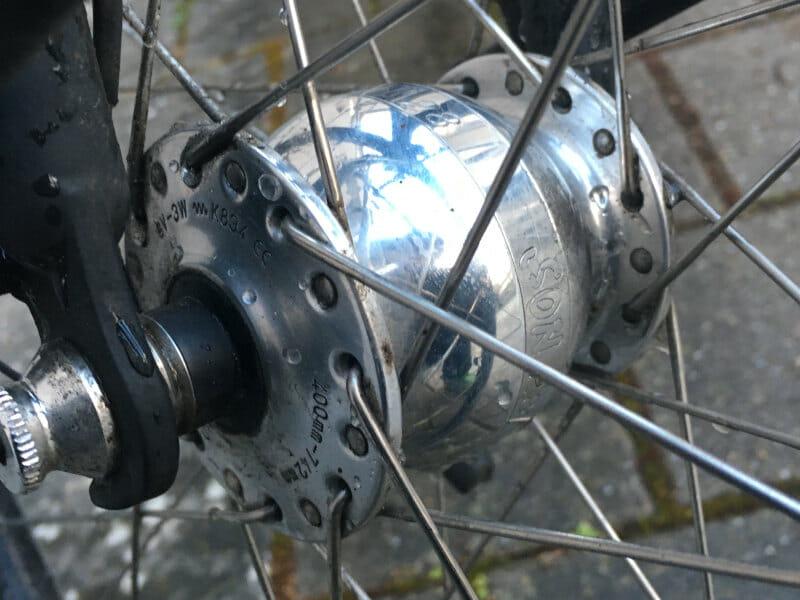 SON-Fahrradlicht - Nabendynamo