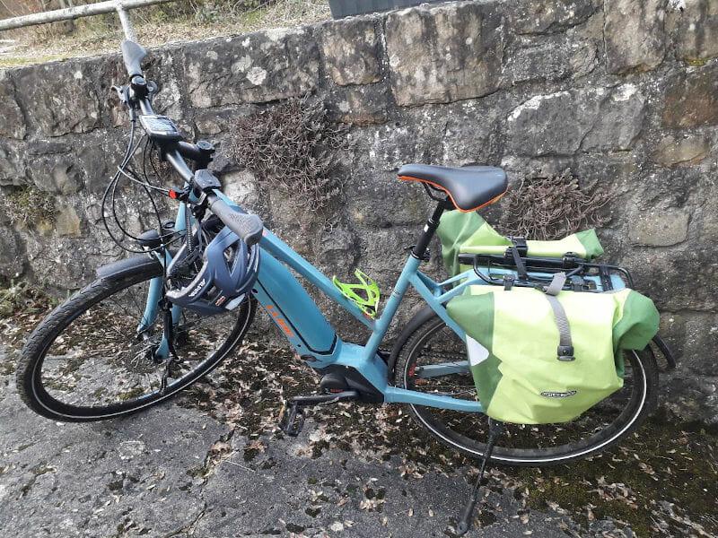 E-Bike mit Bosch-Motor