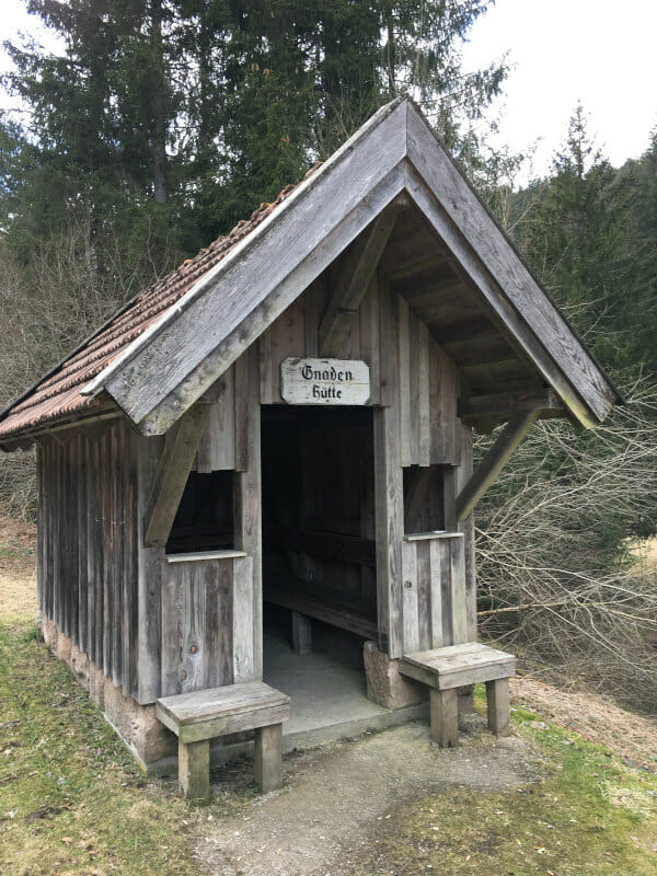 Gnadenhütte bei Mitteltal Obertal (Baiersbronn) hoch nach Kniebis.