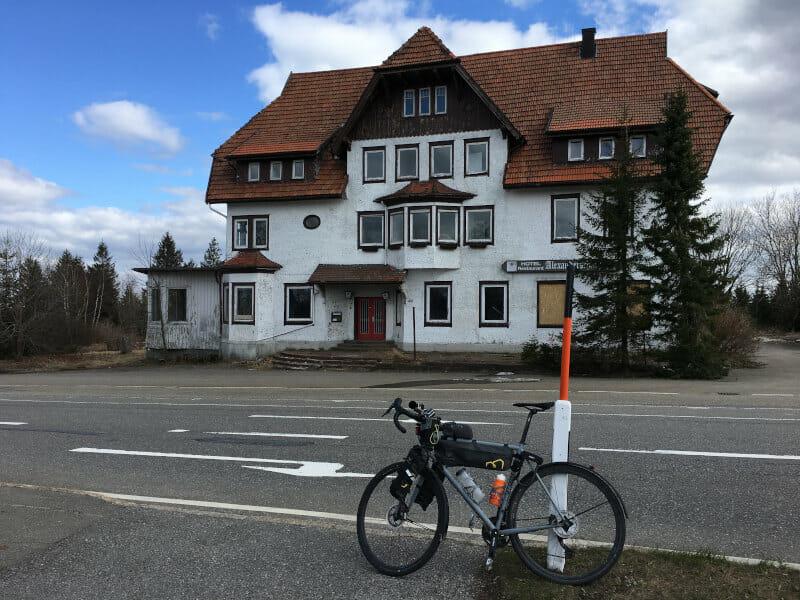 Altes Hotel Alexanderschanze in Kniebis in Freudenstadt am Schwarzwaldradweg