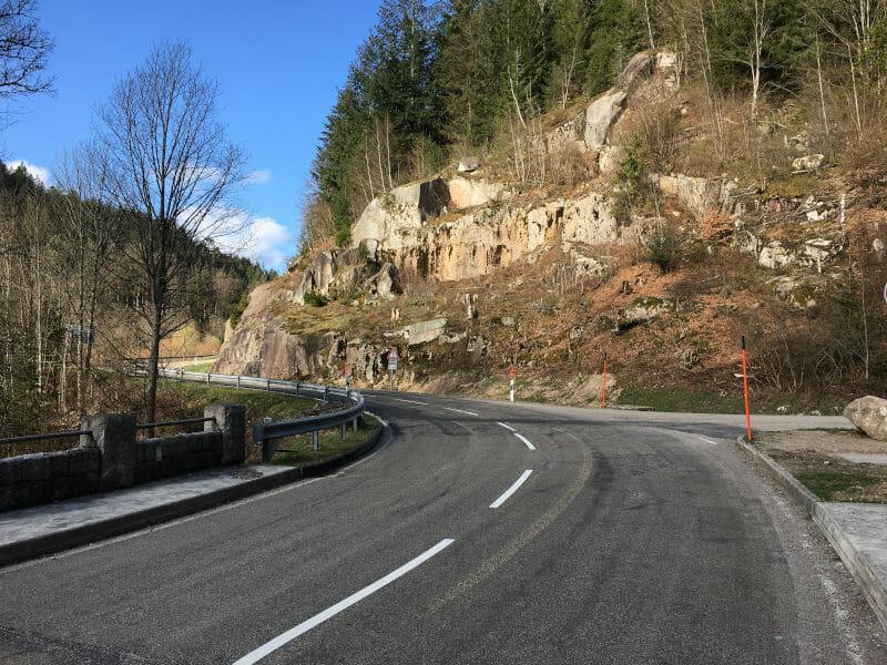 Zwischen Raumünzach und Ebersbronn am Schwarzwald-Radweg